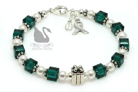 Gift of Life Organ Transplant Awareness Bracelet (B210)