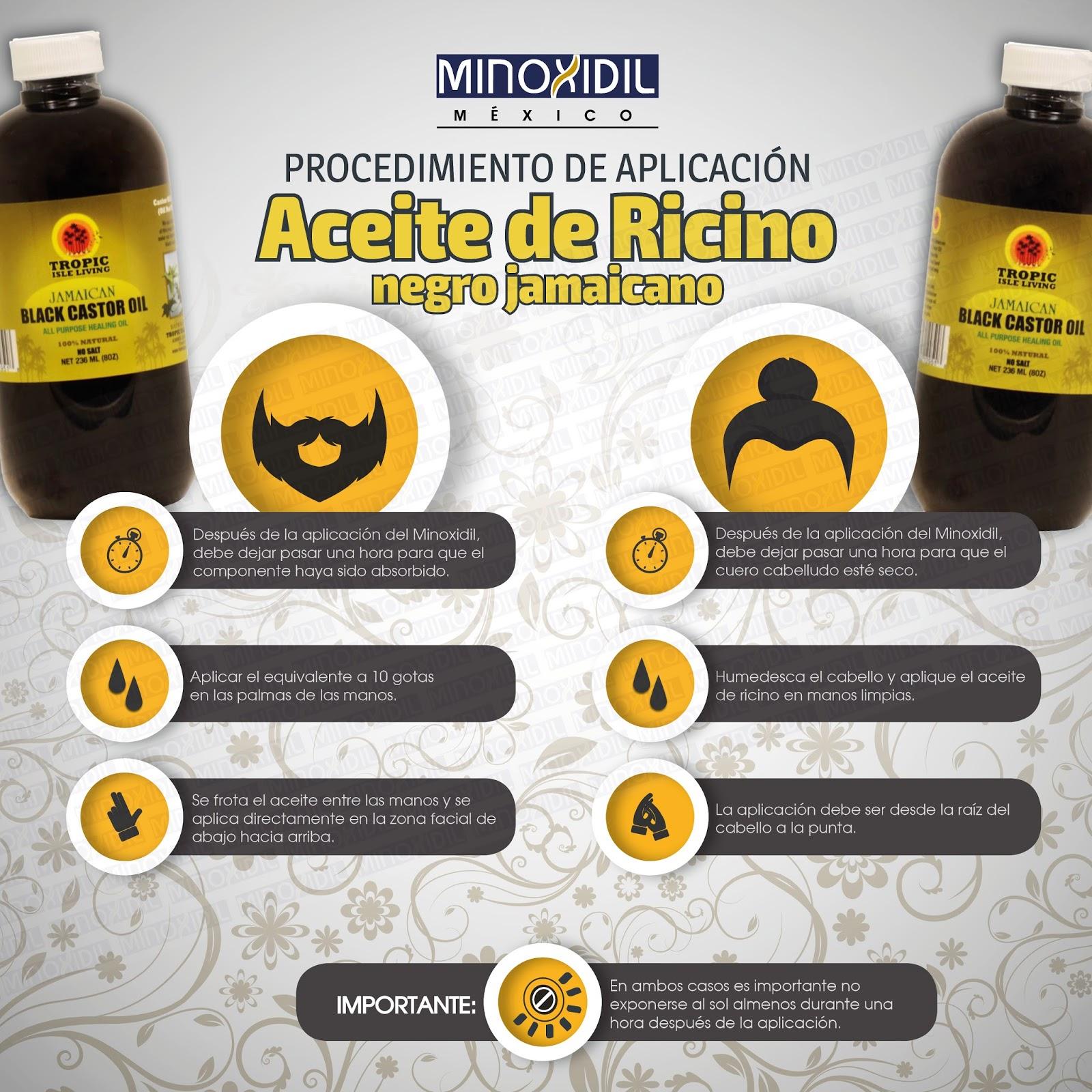 Como se aplica el aceite de ricino negro Jamaicano para Cabello y ...