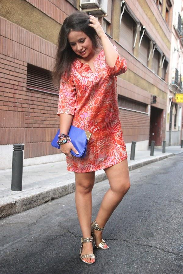 DIY Vestido sencillo y muy fácil de hacer, con mangas (patrón gratis). Blog de costura y blog diy.