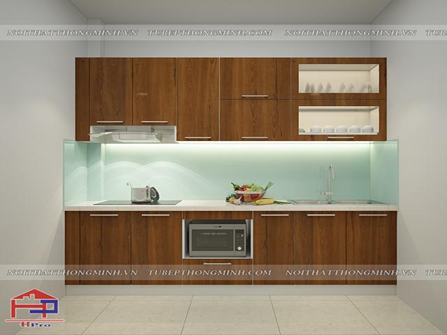 Mẫu thiết kế tủ bếp nhựa laminate-5