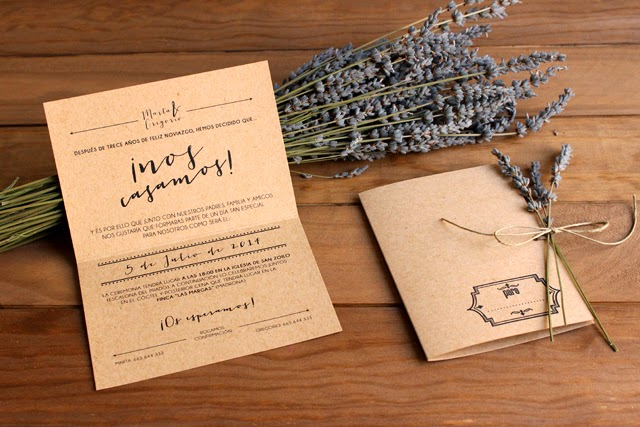 invitaciones de boda originales craft hermanas bolena shop