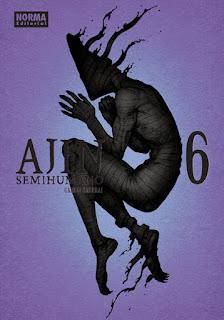 """""""AJIN / Semihumano"""" (亜人) vol.6 de Gamon Sakurai"""