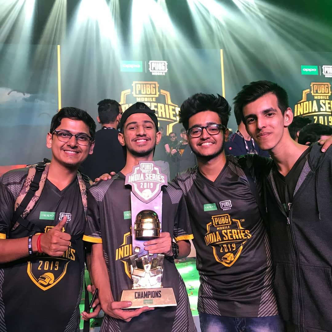 Soul Mortal Won PUBG Mobile India Series 2019