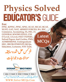 Online Solved MCQs PDF Guide