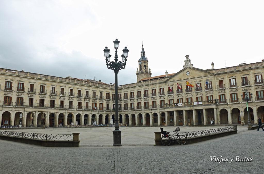 Plaza de España o Plaza de los Arcos, Vitoria
