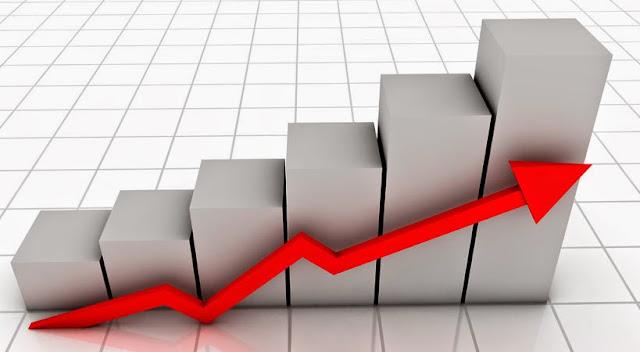 Imagen de un Grafico positivo para el artículo sobre el cálculo del ROI en ARTE Marketing