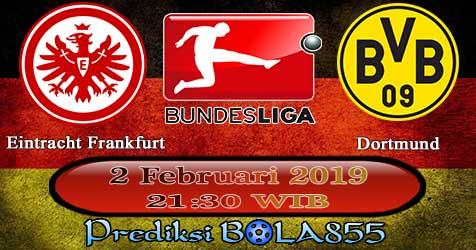 Prediksi Bola855 Eintracht Frankfurt vs Dortmund 2 Februari 2019