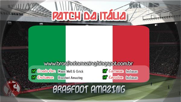 ITALIA O DA PATCH BRASFOOT 2011 BAIXAR PARA
