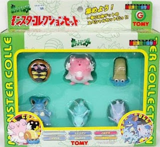 Pokemon figure Tomy Monster Collection Set G