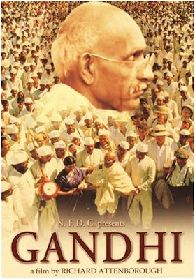 Gandhi,  Directed by Richard Attenborough, starring Ben Kingsley