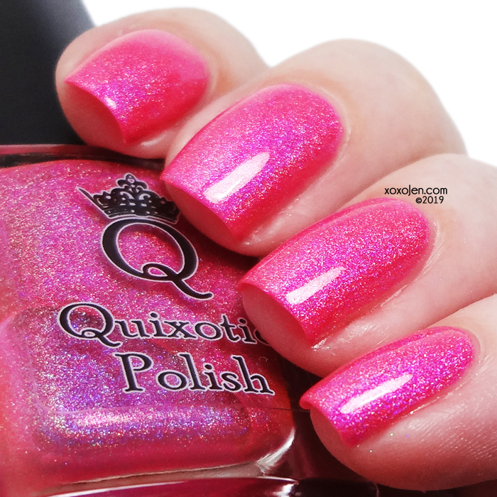 xoxoJen's swatch of Quixotic Polish Treat Yo'Self 2019