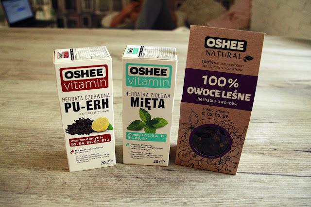 Herbaty OSHEE? - recenzja
