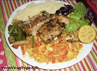 Recette de poulet au four recettes ivoiriennes cuisine d - Recette de cuisine ivoirienne gratuite ...