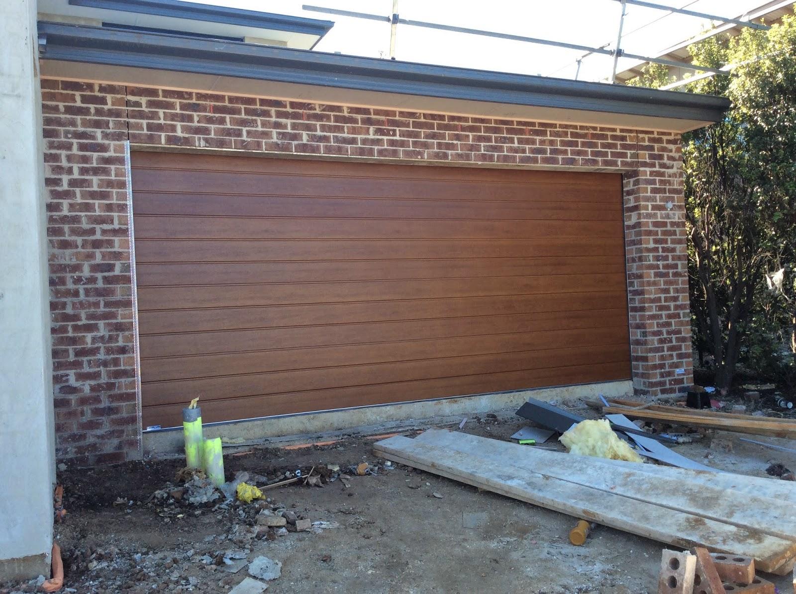building nelson dynamic deco wood slimline garage door. Black Bedroom Furniture Sets. Home Design Ideas