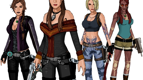 Dress up Lara Croft 3.1