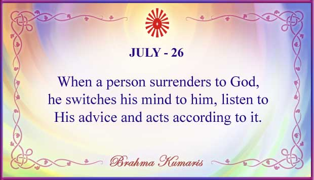 Thought For The Day July 26