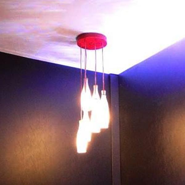 Luminária Spiral Coke