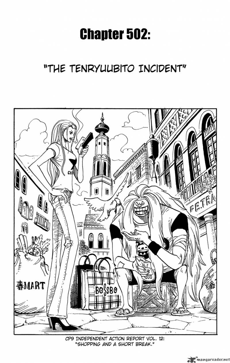 One Piece 502