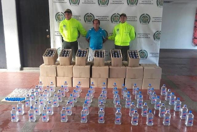 Importante golpe al contrabando y al microtráfico en Girardot y Zipaquirá
