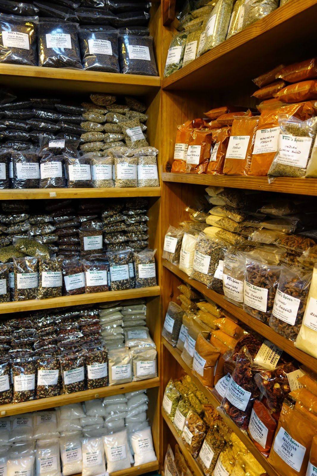 Fox's Spices on shelves at the Good Food Show Winter