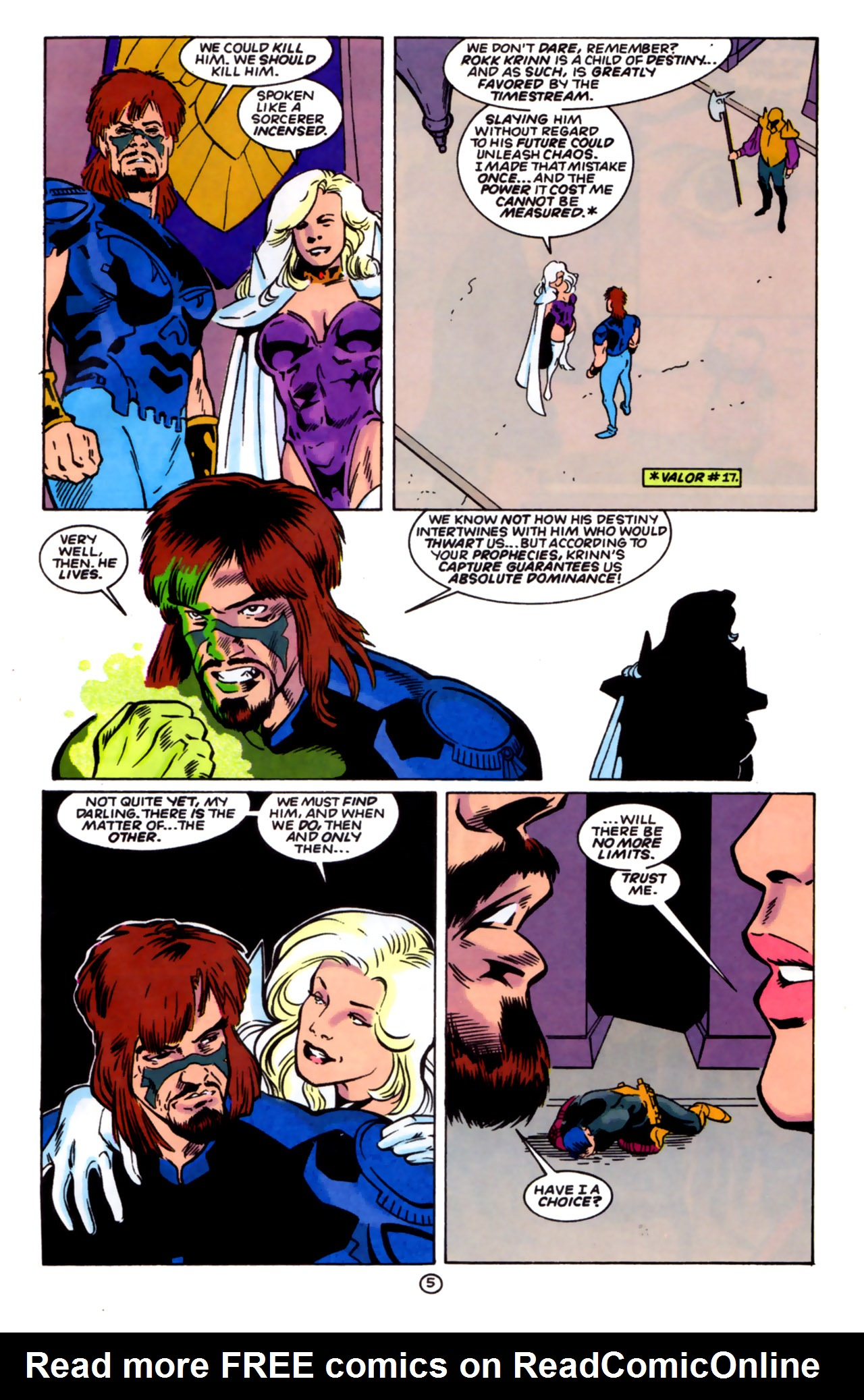 Legion of Super-Heroes (1989) 60 Page 5