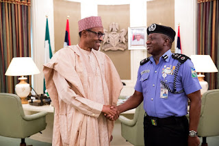 Ibrahim Kpotun Idris meets President Buhari