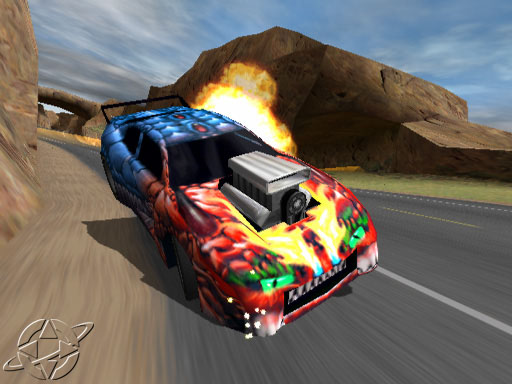 Rumble Racing PS2 GAME ISO Gameplay