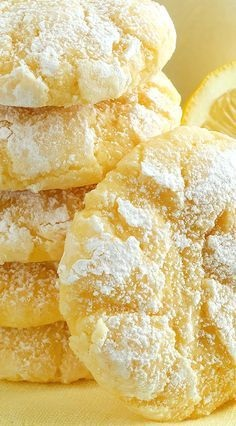 Summertime Lemon Sugar Cookies