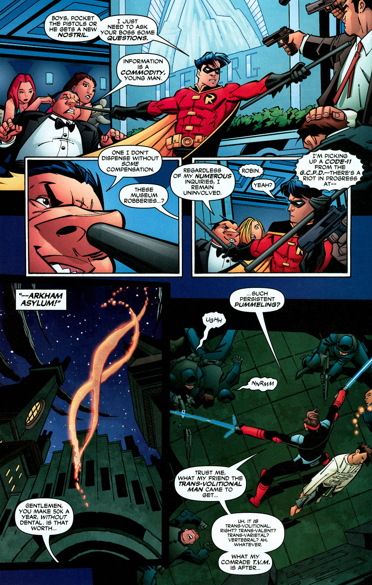 Read online Trinity (2008) comic -  Issue #9 - 29