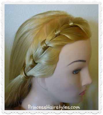 Nicole Brown Simpson inspired hairstyle tutorial