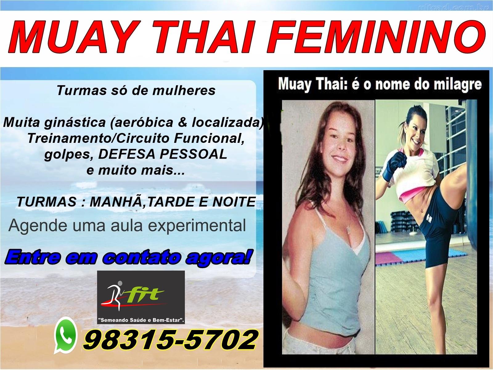 aula de muay thai para perder peso