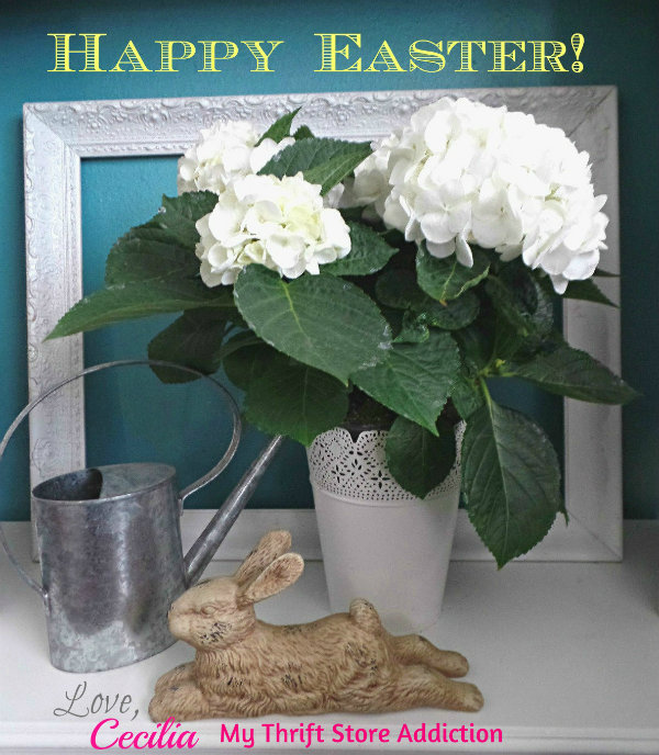 Easter Greetings! mythriftstoreaddiction.blogspot.com Wishing you a joyous Easter!