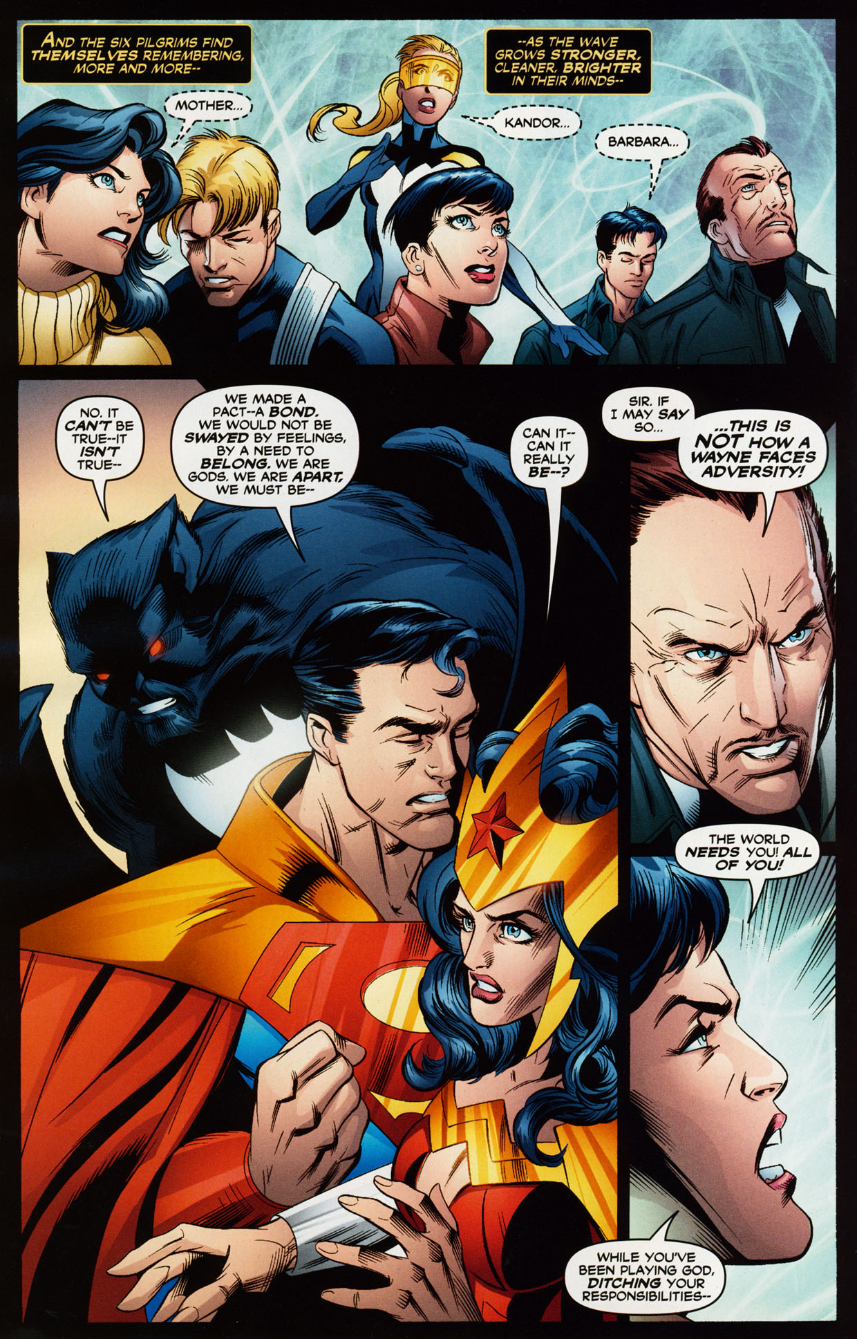 Read online Trinity (2008) comic -  Issue #38 - 11