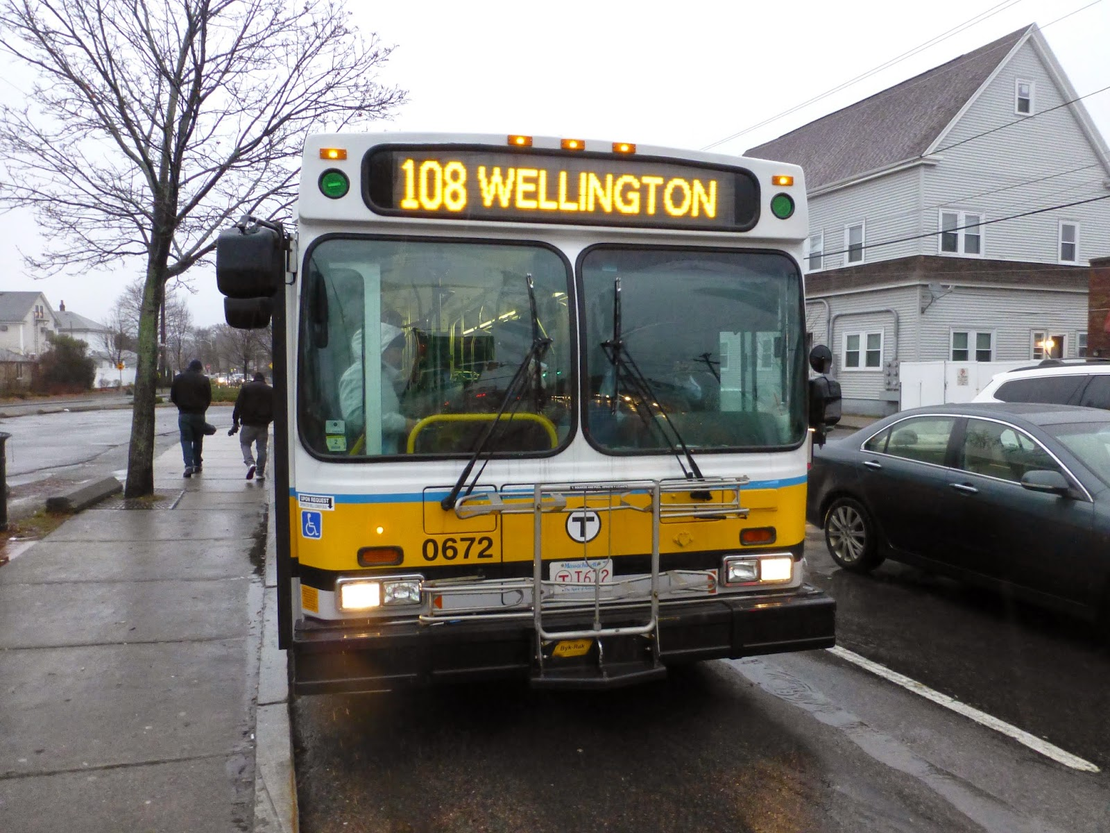 miles on the mbta: 108 (linden square - wellington station via
