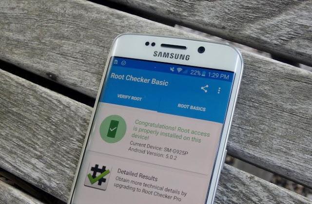 Cara Root HP Samsung Android