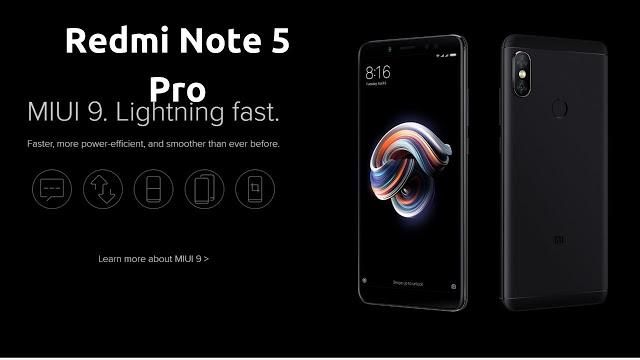 Ponsel Gahar Dari Xiaomi, Redmi Note 5 Pro