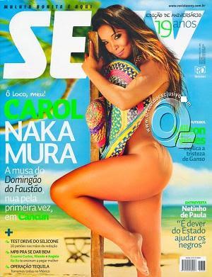 Download Revista Sexy Carol Nakamura Novembro 2011