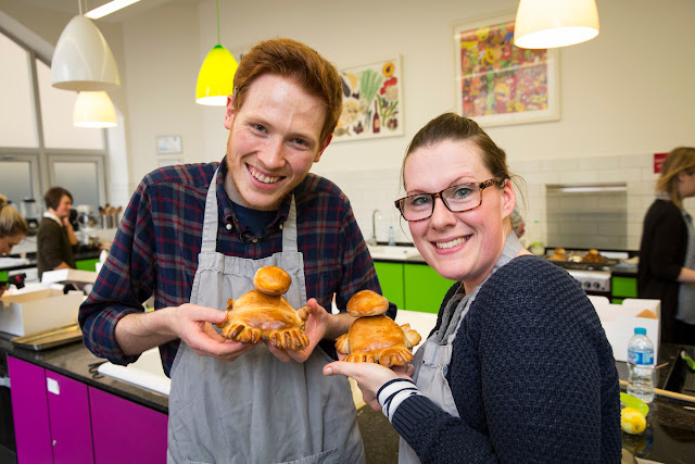 Mrs Bishop, Andrew Smyth and Niffler breads