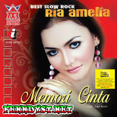 Ria Amelia - Best Slow Rock (Memori Cinta) 2008 Album cover