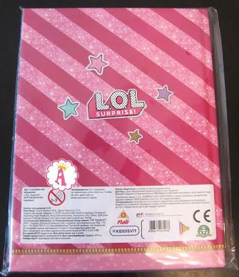 Ежедневник для детей L.O.L. Surprise