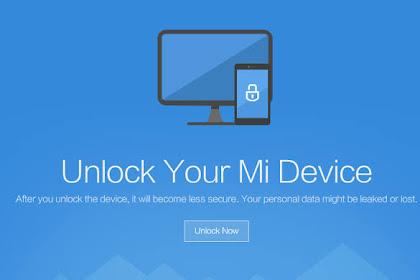 Cara Unlock Bootloader Semua Tipe Xiaomi Lengkap