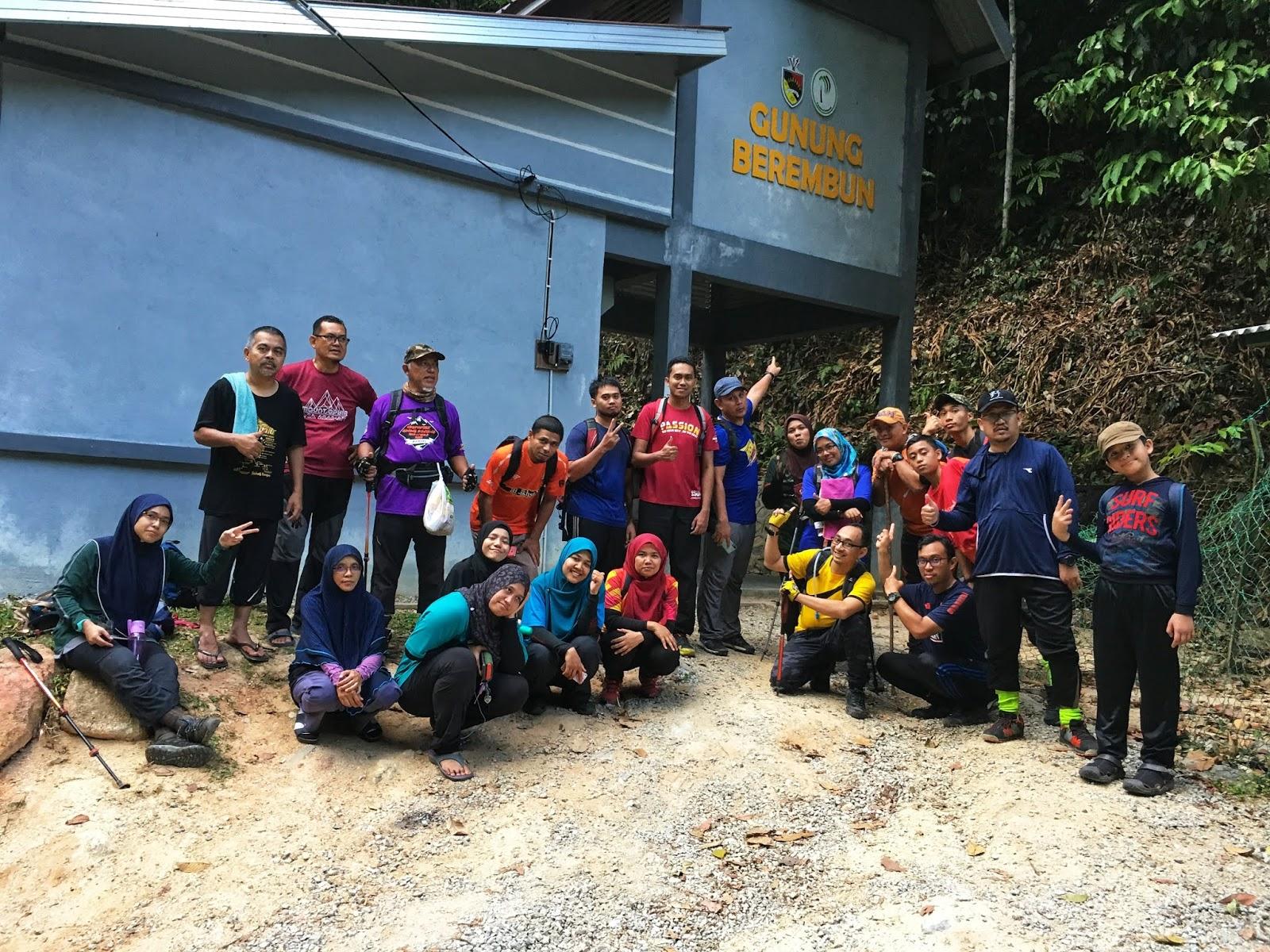 Loji Rawatan Air Pantai, Gunung Berembun