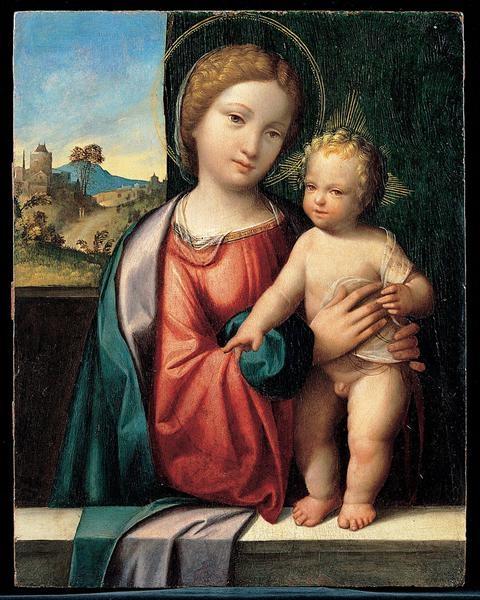 Benvenuto Tisi (Garofalo) - Мадонна и Младенец