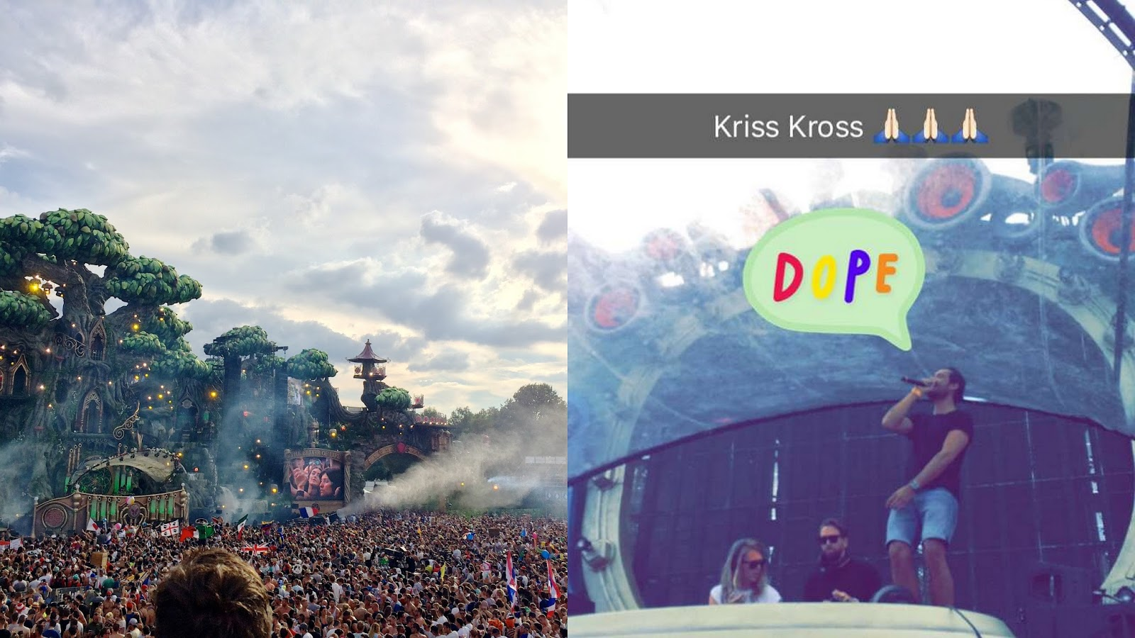Tomorrowland 2016 kriss kross yuki kempees