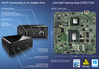 PC mini NUC dari intel 3