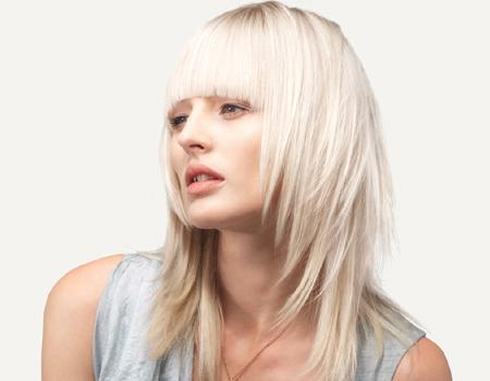 Прическа на пластове за дълга коса