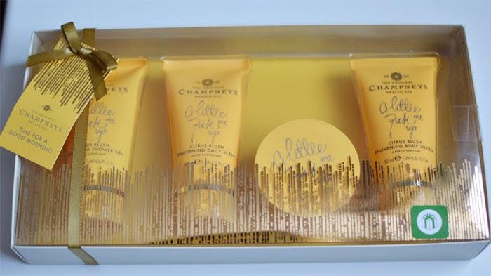 Champneys Citrus Blush Set