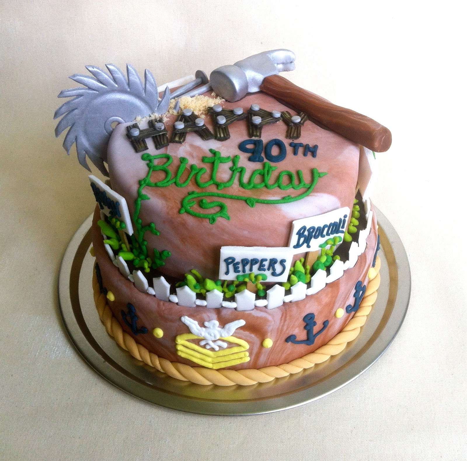 Birthday Cake Ideas For 90 Year Old Man Ry Pfaff Cakes June 2013