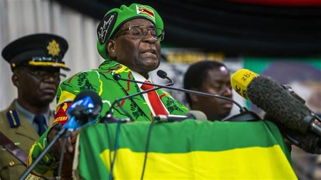 World Health Organization 'rethinking' decision on Zimbabwe's President Robert Mugabe