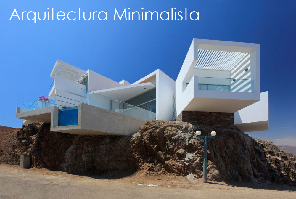 Arquitectura minimalista for Casa minimalista lima
